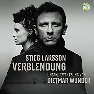 Verblendung audiobook cover art