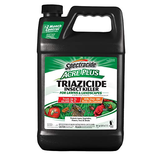 Spectracide 1-Gallon Acer Plus Triazicide Insect Killer for Lawns and Landscapes Concentrate, Brown/A (96203)