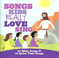 SONGS KIDS REALLY LOVE TO SING - 21 BIBLE SONGS (1 CD)