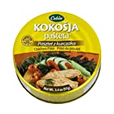 Cekin Kokosja Pasteta 5x97g/5x3.4oz Delicious Chicken Pate Made in USA 5-PACK