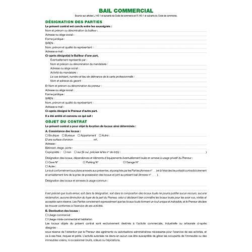 Exacompta 47E - Carpeta de alquiler comercial de Artificios y Commercantes