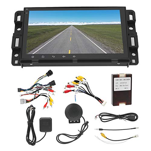 GPS-Navigation 8-Zoll-WiFi-System Multimedia-Player GPS Navigator für Android 9.1 Systerm Fit für Acadia/Savana/Sierra/Yukon