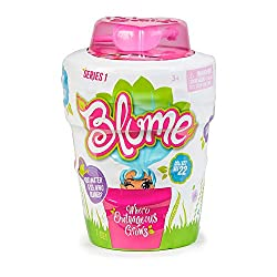 Blume dolls come hidden in their flower pots Add water to the Blume pot and watch them grow Each Blume Doll has outrageous squishy hair With 10 surprises in each pot Mix and match outfits and accessories