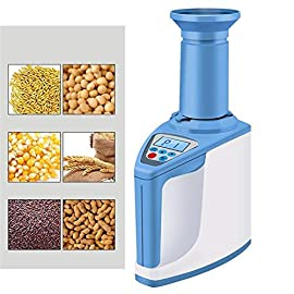 Yadsheng hygrometer tester moisture meter detector water meter computer grain moisture determination indoor thermometers… 2 intelligent function enables you to adjust situation of your wine cellar, greenhouse or other places in time. Revision moisture pre test automation temperature compensation