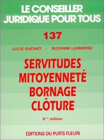 Mirror PDF: Servitudes - Mitoyenneté - Bornage - Clôture