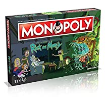 Winning Moves - Rick and Morty Monopoly Italian Edition, 036504