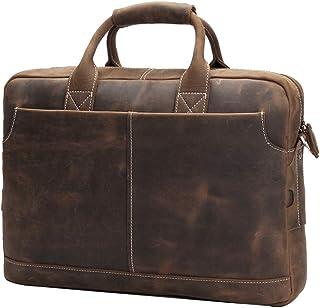 Amazon.es: maletin piel caballero