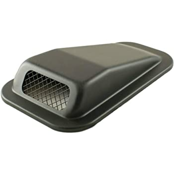 Genuine Land Rover Defender air intake /'open/' vent LH wing top 90//110