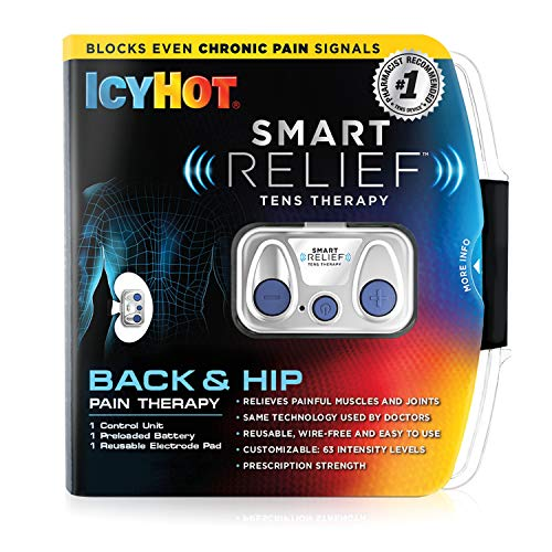 Icy Hot SmartRelief TENS Therapy SmartRelief Control Unit for Wireless Back & Hip Pain Therapy