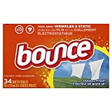Lot of 4 Bounce Outdoor Fresh Fabric Softener Sheets 34 count each box