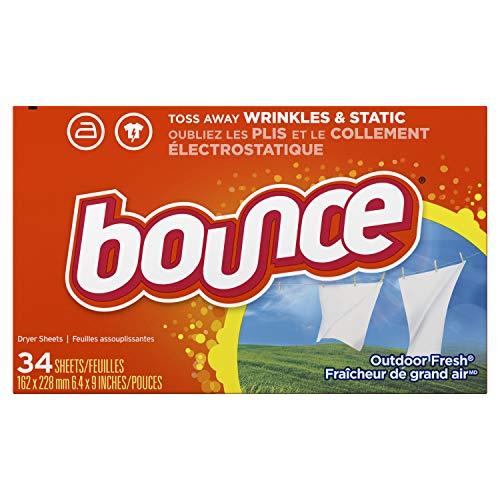 Bounce Outdoor Fresh Fabric Softener Sheets, 34 sheets by Bounce