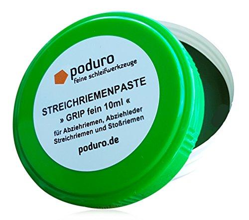 Poduro Grip - Pasta para Afilado/afilar Cuchillas/para Las Correas de Cuero/Strop Pasta