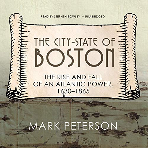 The City-State of Boston audiobook cover art