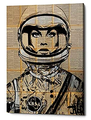 "Epic Graffiti ""Orbit by Loui Jover, Giclee Canvas Wall Art"