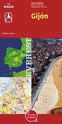 Gijón. Plano callejero (Planos callejeros / serie roja)