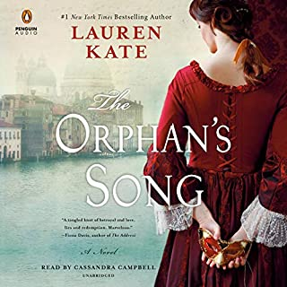 The Orphan's Song audiobook cover art