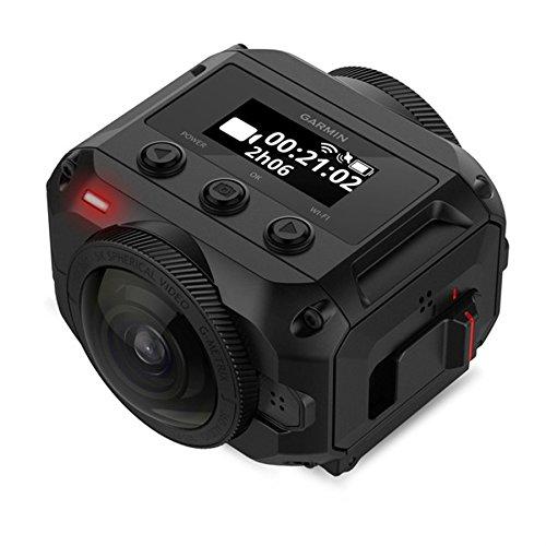 Garmin VIRB 360, Waterproof 360-degree Camera, 5.7K/30fps Resolution, 1-Click Video Stabilization up to 4K Resolution