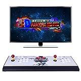 SERBVN Pandora Box 18S PRO Metallo Arcade Console Machine, 4500-in-1 Retro Games Machine Macchina, con Doppio Joystick, Wi-Fi, Mercato dei Giochi, Full HD 1280x720 e HDMI/VGA