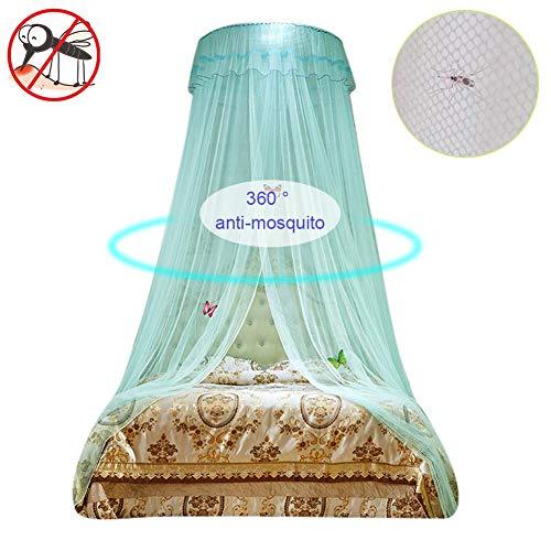 yummyfood Moskitonetz Dome Lace Mückennetz Moskitonetz Doppelbett Einzelbett Mit 2 Öffnungen Bett Insektennetz Für Verschiedene Arten Von Betten