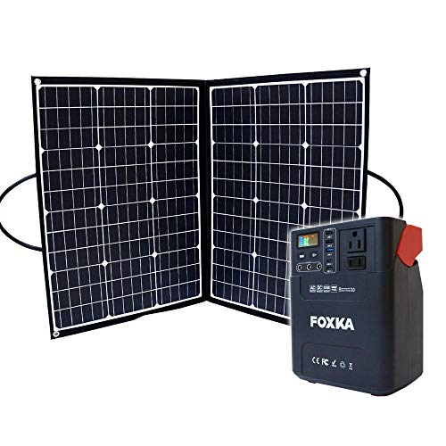 ポータブル電源 60000mAh ソーラーパネル 100W セット 1年保証 家庭用蓄電池 防災 停電対策 キャンプ 車中泊 アウトドア [XAA372XO828]