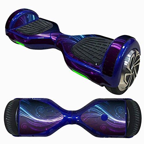 Gaddrt Monociclo Scooter Piel Hover eléctrica Skate Board Adhesivo Pegatina de Dos Ruedas Smart Funda Protectora Funda para 6,5Pulgadas oscilante, K
