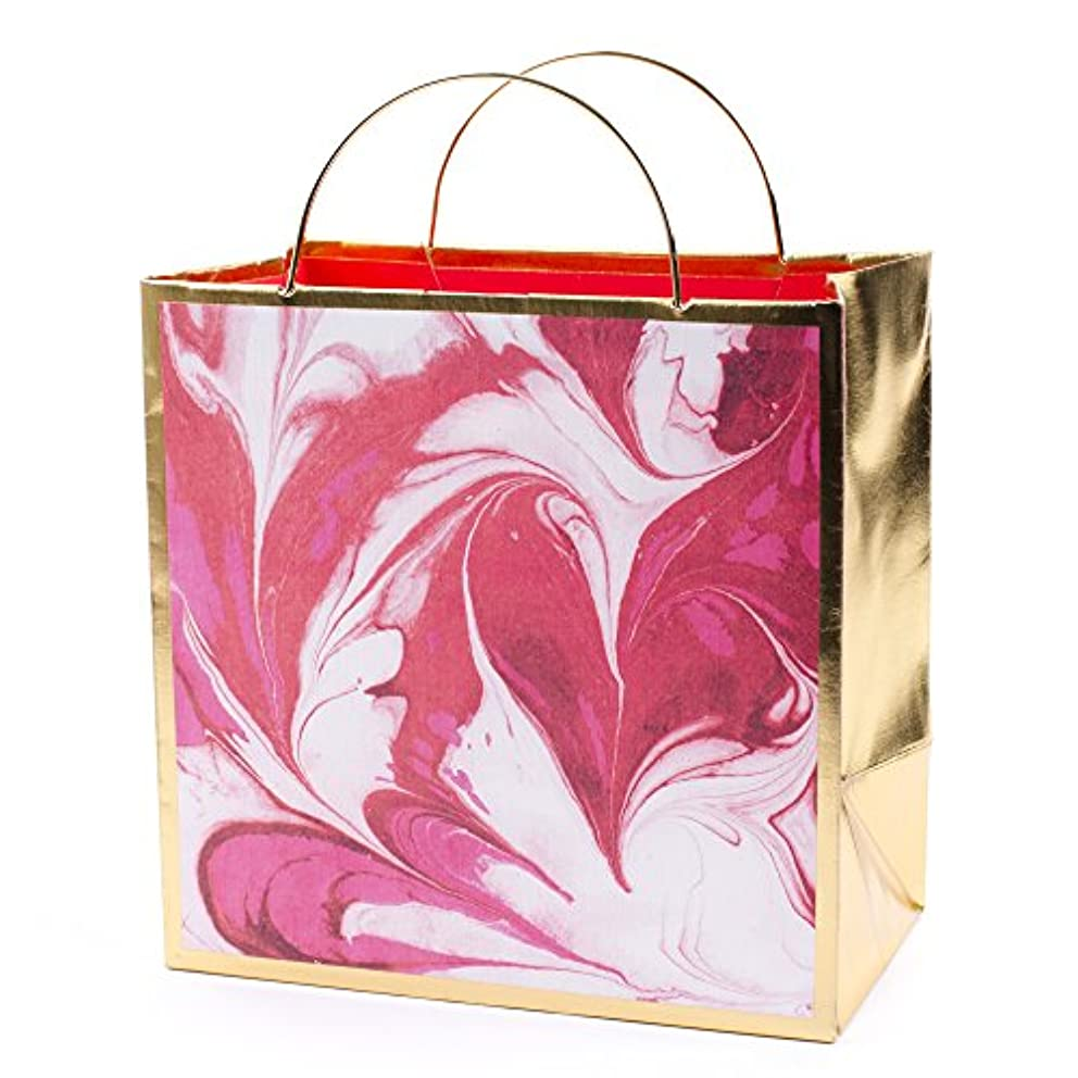 Hallmark Signature Medium Gift Bag—Mothers Day, Birthday, Holiday, Bridal Shower, All Occasion (Marble)