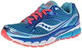 Saucony Women's Ride 7 Running Shoe,Blue/Vizicoral,9 M US