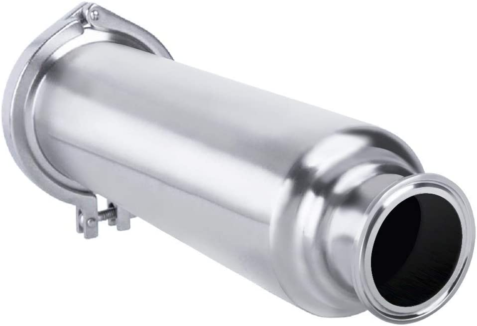 Homend Regular store Filter Superlatite Tri-Clamp Sanitary Strainer Straight SS304 Inline