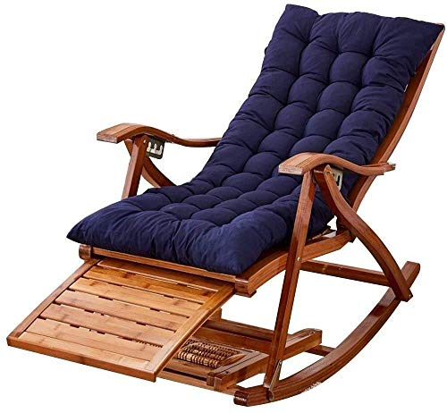 Yuany Chaise fraîche, Chaise de Jardin Pliante, Chaise Longue de Jardin légère, Chaise de Jardin Chaise Pliante, Fauteuil inclinable Extra Large