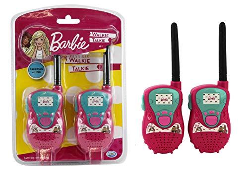 ODS- Walkie Talkie Barbie, Color Rosa, 9252220010449