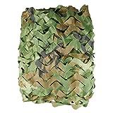 XUE Tarnnetz für die Jagd Camouflage Netz Woodland Grün für Bundeswehr Sniper Armee Fotografie Sonnenschutz Deko Militär Garten 1,5m/2m/3m/4m/5m/6m/7m/8m/10m/12m/20m