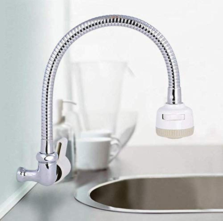 Küchenarmaturen 360 Grad drehbare Wasserhahn Wasserhahn Küche einzigen kalten Wasserhahn