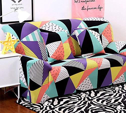 ZGQ Sofabezug Stretch L Form Moderne Ecksofa Überzüge Sofa schonbezug 1 2 3 4 sitzer für Sofa mit recliners, für 1/2/3/4 Seater Slipcover,Color,4 Seater, 92-118 inch