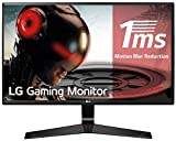 LG 27MP59G-P - Monitor Gaming FHD de 68, 6 cm (27') con Panel IPS (1920 x 1080 píxeles, 16:9, 1 ms con MBR, 75Hz, 250 cd/m², 1000:1, sRGB 99%, D-SUB x1, HDMI x1, DP x1) Color Negro