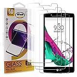 Guran 4 Stück GEH?rtetes Glas Displayschutzfolie für LG G4S / LG G4 Beat Smartphone mit 9H H?RTE Panzerglasfolie Anti-Kratzer HD Klar Schutzfolie Film