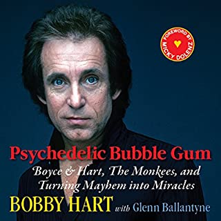 Psychedelic Bubble Gum audiobook cover art