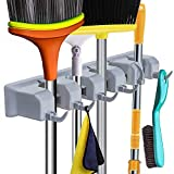 Broom Holder Wall Mount and Gard...