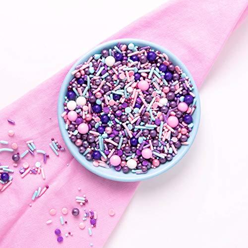 Pink, Blue, Purple, Sprinkles,Sweets Indeed Cute Cupcake Sprinklefetti 8 ounce