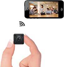 Mini WiFi Camera – Bysameyee Wireless Hidden Spy Cam with Motion Detection Night Vision, HD 720P IP Video Recorder with Mobile Live View for Android iPhone