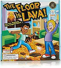 The Floor is Lava - Interactive Game for Kids and Adults - Promotes Physical Activity - Indoor and Outdoor Safe