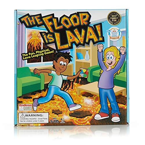 The Floor is Lava - Interactive Game for Kids and Adults -...
