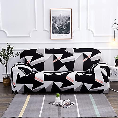 MKQB Funda de sofá elástica elástica para Sala de Estar, Funda de protección de sofá Antideslizante Bien Envuelta, Funda de sofá de protección para Mascotas n. ° 3 XL (235-300cm)