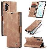 AKC Cover Compatibile per Samsung Galaxy Note 10 Custodia Pelle Portafoglio...