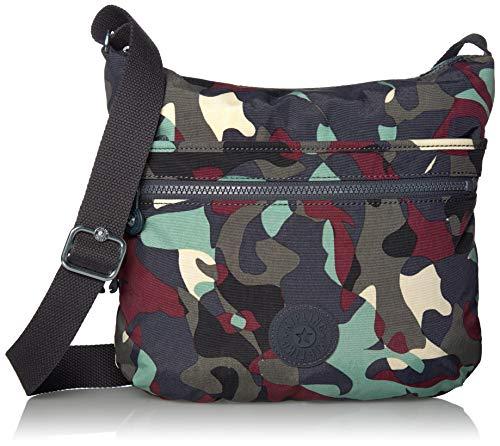 Kipling Arto Crossbody Bag, Camo Leather