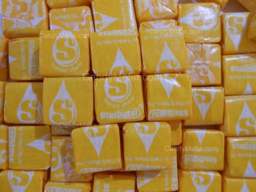 Lemon Starburst Chewy Yellow Starburst Candy 2lbs