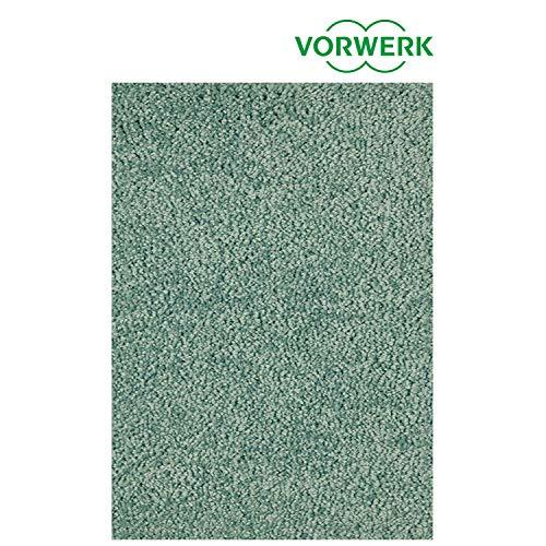 Vorwerk vlakpolig tapijt effen groen woonkamer Muster bestellen groen