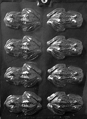 Grandmama's Goodies A126 Frosch Schokolade Süßigkeiten Seifenform mit exklusiver Anleitung farblos