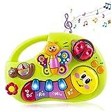 Wishtime Jouet de Piano Musical pour bébé Jouets pour Enfants Jouets pour bébés Centre d'activités
