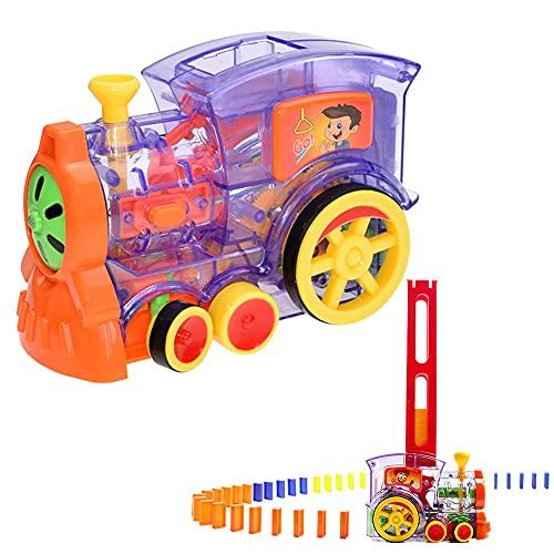 Paquete de juguetes Domino para niños Domino Tren Juguete de Tren Domino...