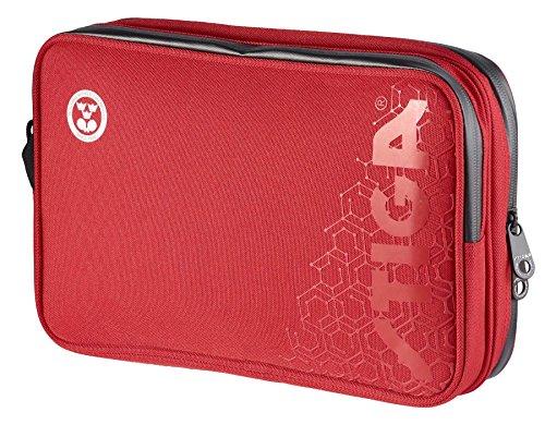 Table Tennis Wallet Double Hexagon Red/Black - Stiga